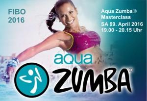 Wasserperle - Aqua Zumba® Masterclass FIBO-Köln 2016